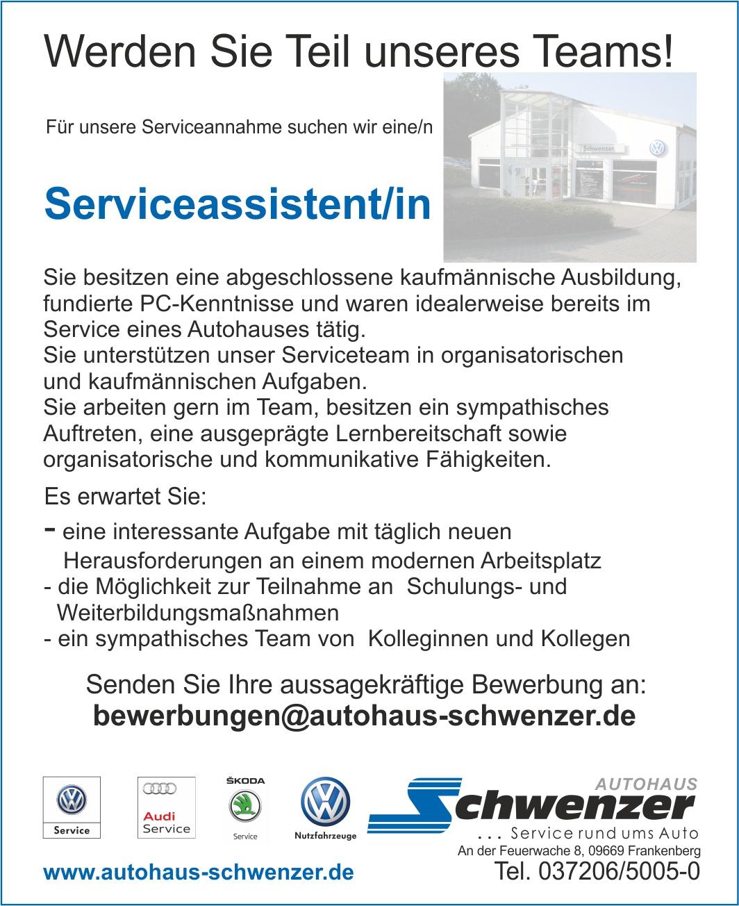 stellenanzeige serviceassistentin 06 2018 - Audi Bewerbung Online